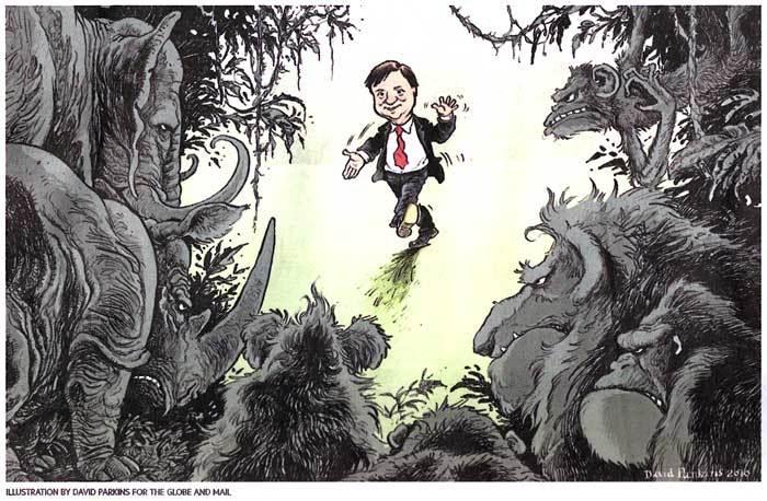 Illustration by David Parkins - Globe & Mail 2010-10-29 - Page S3